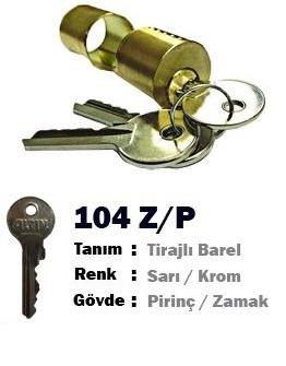 ALTIN BORULU BAREL ZAMAK(YEDEK)