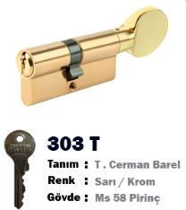 ALTIN CERMAN BAREL TOPUZLU 68 MM SARI