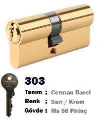 ALTIN CERMAN BAREL 68 MM SARI